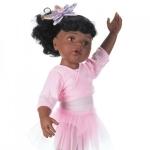 Afro-Amerikaanse Hannah ballet - 50cm - Götz