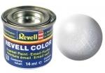 Nummer 99 Revell verf metallic grijs