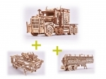 Voordeelpakket Wood.Trick de Big Rig en 2 uitbreidingen