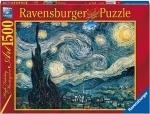Legpuzzel - 1500 - Sterrennacht 1889 van Gogh