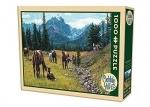 Legpuzzel - 1000 - Paarden
