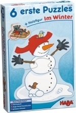6 eerste puzzels in de winter - Haba