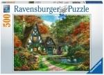 Legpuzzel - 500 - Cottage in de herfst