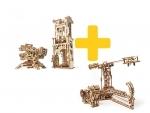 Voordeelpakket UGears  - Hoge masten