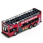 Big Apple tour bus - Metal Earth