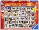 Legpuzzel Christmas plaatjes - 1000 stukjes
