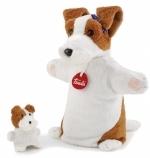 Handpop - Hond met baby - Trudi