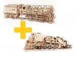 Voordeelpakket UGears  - 2x Locomotief
