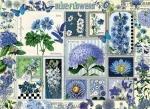 Legpuzzel - 1000 - Blue flowers