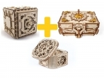 Voordeelpakket Ugears - Safe boxes