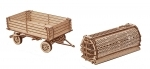 Trailer voor tractor - Wood.Trick