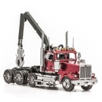 Western Star 4900SF Log Truck - Metal Earth