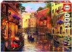 Legpuzzel - 1500 - Sunset in Venetie