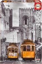 Legpuzzel - 1500 - Tram in Lissabon