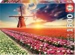 Legpuzzel - 1500 - Landschap met tulpen