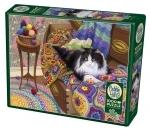 Legpuzzel - 1000 - Comfy Cat