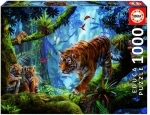 Legpuzzel - 1000 - Tiger on the tree