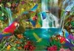 Legpuzzel - 1000 - Tropical Parrots