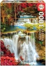 Legpuzzel - 1000 - Waterval in een diep bos