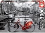 Legpuzzel - 3000 - Amsterdan black and red