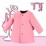 Roze jas van Neopreen - 45-50cm - Götz