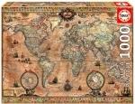 Legpuzzel - 1000 - Wereldkaart