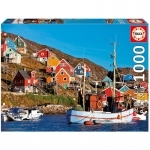 Legpuzzel - 1000 - Noorse huizen