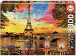 Legpuzzel - 3000 - Sunset in Paris