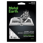 Moby Dick Book Sculpture - Metal Earth