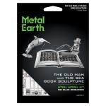 Sculpture book de oude man en de zee - Metal Earth