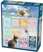 Legpuzzel - 500 - Quilted Kittens