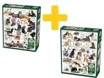 Voordeelpakket puzzels Quotes Cats & Dogs