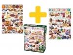 Voordeelpakket legpuzzels - 1000 - Zoete lekkernijen