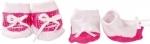 Roze sokjes 2 paar - 42-50cm - Götz