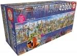 Legpuzzel - 42000 - De wereld rond