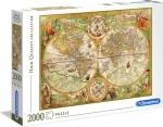 Legpuzzel - 2000 - Antieke wereldkaart