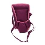 Poppendraagzak buik - Roze paars