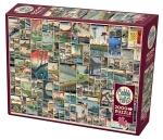 Legpuzzel - 2000 - Uitzichten op Edo in Japan