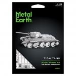 T-34 tank - Metal Earth