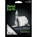 The Old country church - Metal Earth