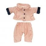Wee Baby Stella - Geruite pyjama - 28cm