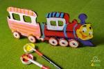 UGears Kleurenmodel - Locomotief
