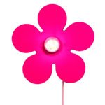 Wandlamp - Happy Flower Magenta