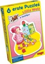HABA – 6 eerste puzzels – Lilli's wereld