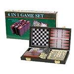Spellenkoffertje - 6 spellen