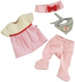 Haba Babypoppenkledingset Haasje