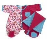 Rubens Baby - Kledingset pyjama roze