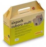 Cuboro houten uitbreidingsset Sixpack Multi