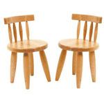 Kinderstoeltjes Legler (setje van twee)