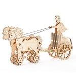 Romeinse strijdwagen - Wooden.City